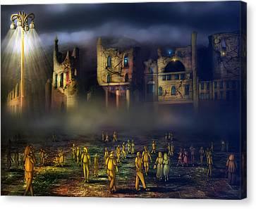 Wonders Canvas Print by Svetlana Sewell