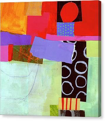 Wonky Grid #19 Canvas Print by Jane Davies