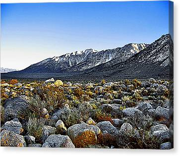 Wonoga Peak Canvas Print
