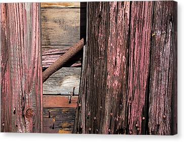 Canvas Print featuring the photograph Wood And Rod by Karol Livote