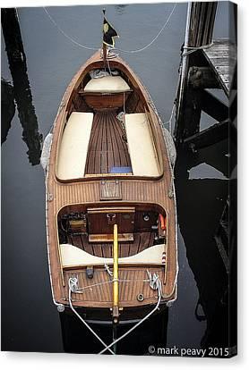 Wood Boat Nantucket Canvas Print