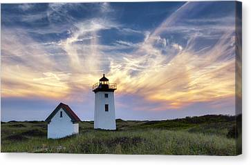 Wood End Light Canvas Print by Bill Wakeley