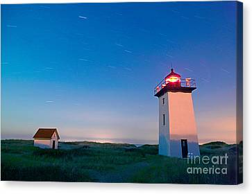 Wood End Lighthouse Provincetown Cape Cod Canvas Print by Matt Suess