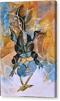 Ghost Story Canvas Print - Wood Goblin by Mindy Newman