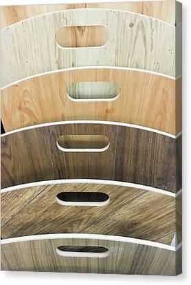 Wood Laminate Canvas Print by Tom Gowanlock