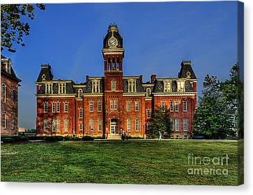 Woodburn Hall In Morning Canvas Print by Dan Friend
