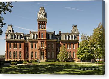 Woodburn Hall -- West Virginia University Canvas Print by Kenneth Lempert