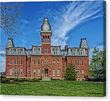 Woodburn Hall - West Virginia University Canvas Print by Mountain Dreams