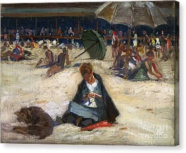 Woodbury: Ogunquit, C1912 Canvas Print by Granger