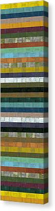 Wooden Abstract Xl Canvas Print by Michelle Calkins