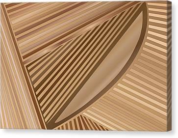 Woodharp Canvas Print