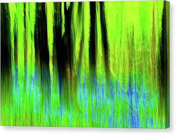 Woodland Abstract Vi Canvas Print