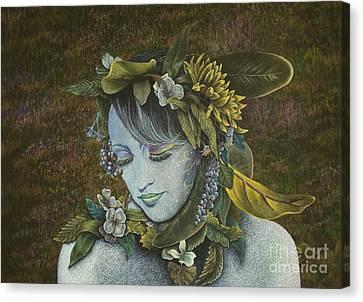 Woodland Nymph Canvas Print