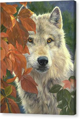 Timber Canvas Print - Woodland Prince by Lucie Bilodeau