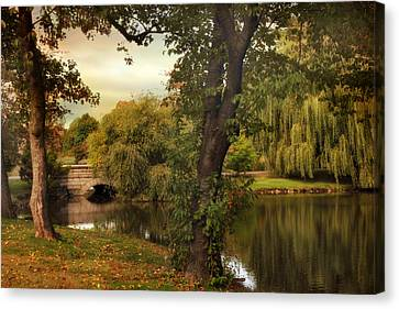 Woodlawn Wonder Canvas Print by Jessica Jenney