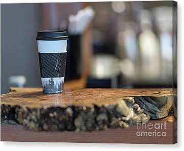 Canvas Print featuring the photograph Woods Coffee by Jim  Hatch