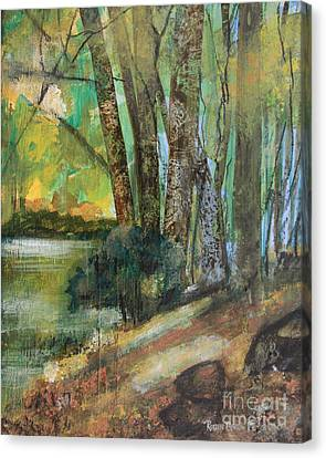 Woods In The Afternoon Canvas Print by Robin Maria Pedrero