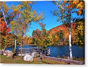 Woodward Reservoir - Plymouth, Vt Canvas Print