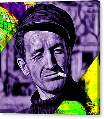 Woody Guthrie Collection Canvas Print