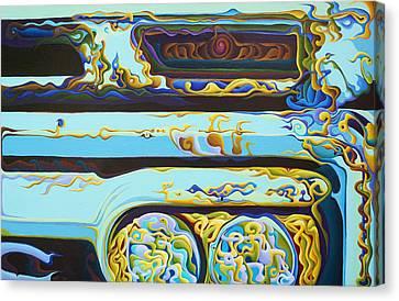 Woohooxidaisical Corrustination Canvas Print by Amy Ferrari