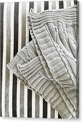 Wool Throw Canvas Print