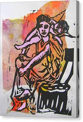 Work Interrupted Canvas Print by Adam Kissel