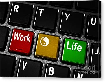 Work Life Balance Canvas Print by Blink Images