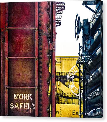 Work Safely Canvas Print by Humboldt Street