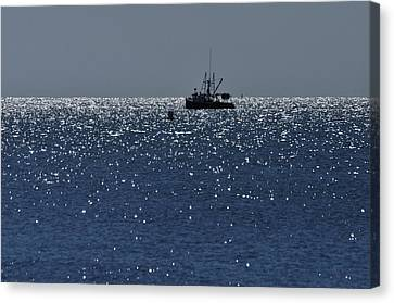 Workday On The Sound Canvas Print