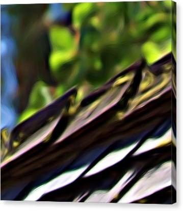 Working Toward Abstraction Canvas Print by Shawn Wallwork