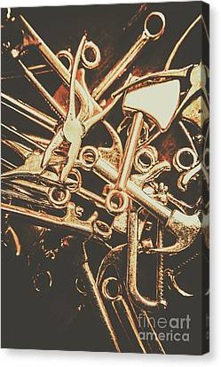 Workshop Abstract Canvas Print by Jorgo Photography - Wall Art Gallery