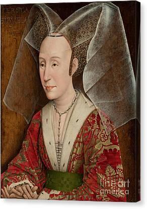 workshop Isabella of Portugal Canvas Print