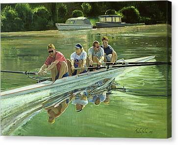 World Champions Canvas Print by Timothy Easton