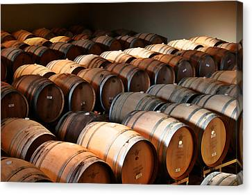 Cellar Canvas Print - World-class Wine Is Made In California by Christine Till