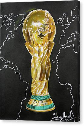 World Cup Trophy Canvas Print