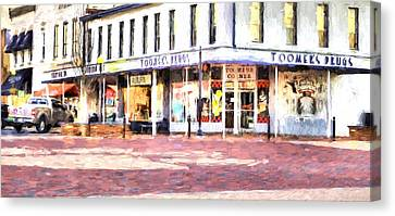 World Famous Toomers Corner Canvas Print by JC Findley