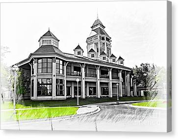 World Golf Hall Of Fame St. Augustine Florida Usa Canvas Print