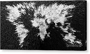 Black Canvas Print - World Maps 12 by Prar Kulasekara