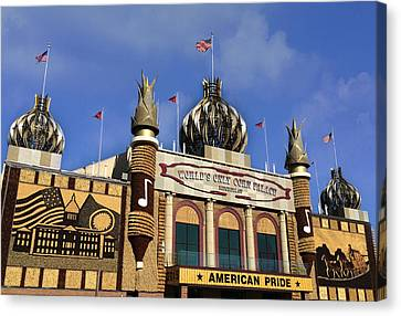 World's Only Corn Palace Canvas Print by Art Spectrum
