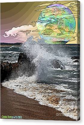 World Outside Our Own Canvas Print