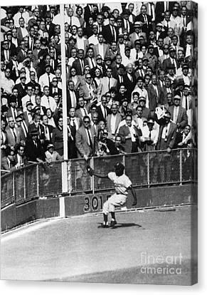 World Series, 1955 Canvas Print by Granger