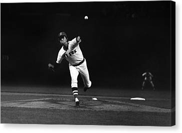 World Series, 1975 Canvas Print by Granger