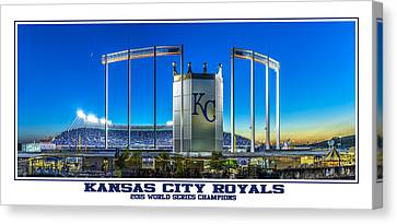 World Series Champs Canvas Print by Tracy Rollins