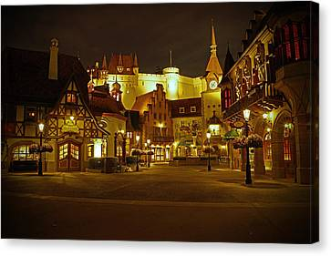 World Showcase - Germany Pavillion Canvas Print