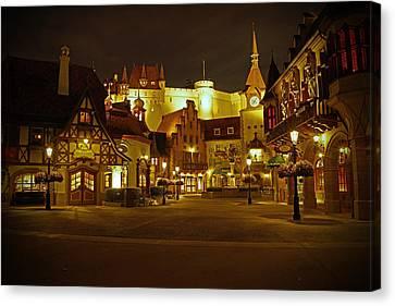 World Showcase - Germany Pavillion Canvas Print by AK Photography