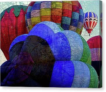 World Traveler Canvas Print by Bonnie Bruno
