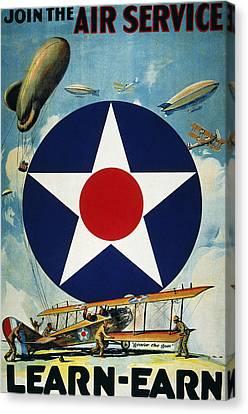 World War I: Air Service Canvas Print by Granger