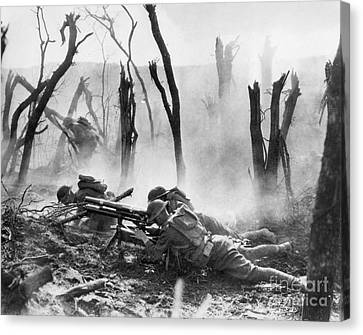 Encbr Canvas Print - World War I: Battlefield by Granger