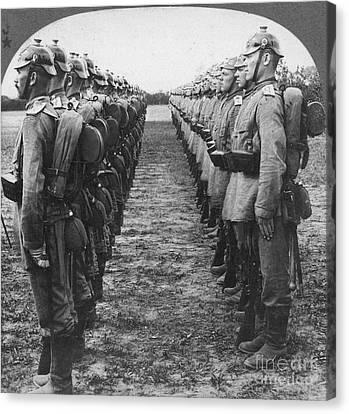 Canteen Canvas Print - World War I: German Troop by Granger