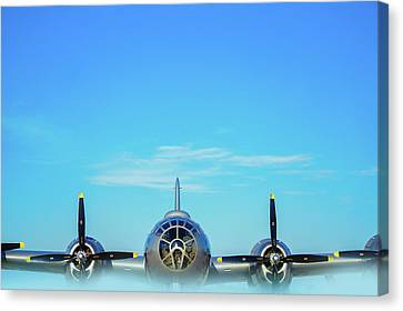World War II Era B-29 Stratofortress Bomber Canvas Print